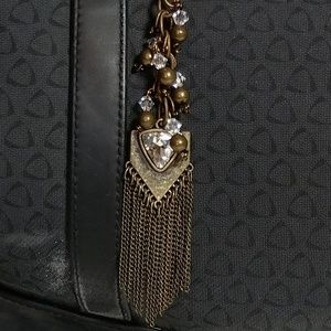Accessories - Vintage Brass Jean, Purse or Key Ring Charm